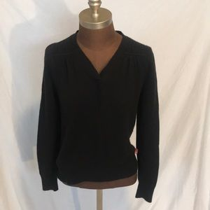 The North Face Cotton/wool blend knit sweater S